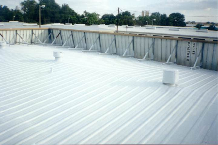 Nice Foam Roofing System